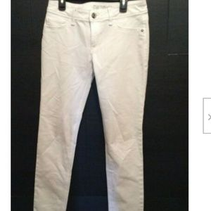 DL1961 Jeans White 27 Angel Mid-Rise Skinny Ankle